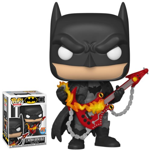 Pop! Heroes - DC Super Heroes - Death Metal Batman (Guitar Solo) Exclusive