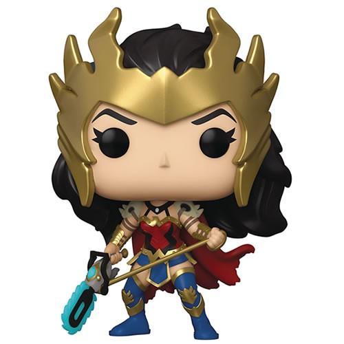Pop! Heroes - DC Super Heroes - Death Metal Wonder Woman Exclusive w/ Chase