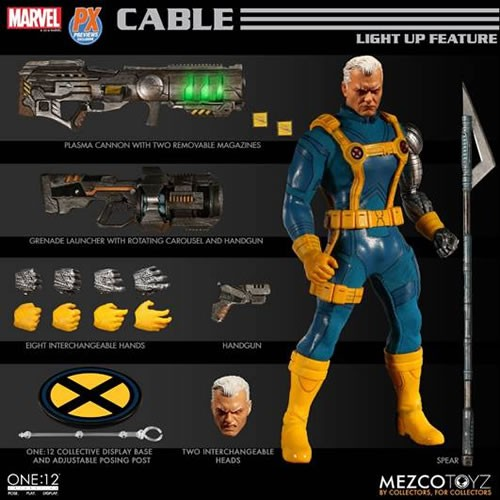 One:12 Collective Figures - Marvel - Cable (Exclusive Version)