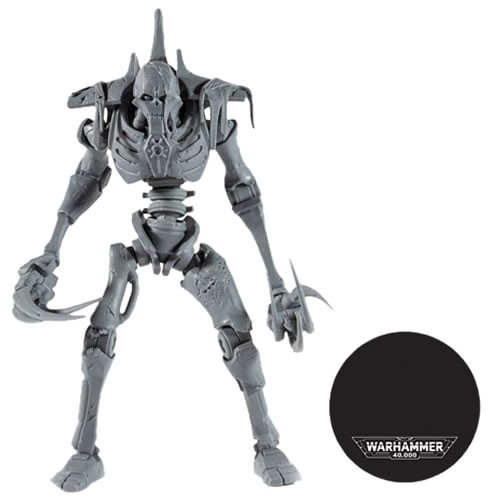 """Warhammer 40,000 Figures - S03 - 7"""" Scale Necron Flayed One (Unpainted Artist Proof)"""