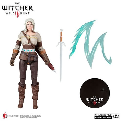 """The Witcher 3 The Wild Hunt Figures - S02 - 7"""" Scale Ciri"""