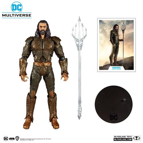 "DC Multiverse Figures - Justice League (2021 Movie) - 7"" Scale Aquaman"