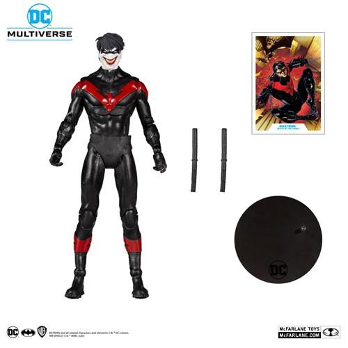 """DC Multiverse Figures - 7"""" Scale Nightwing Joker (New 52)"""