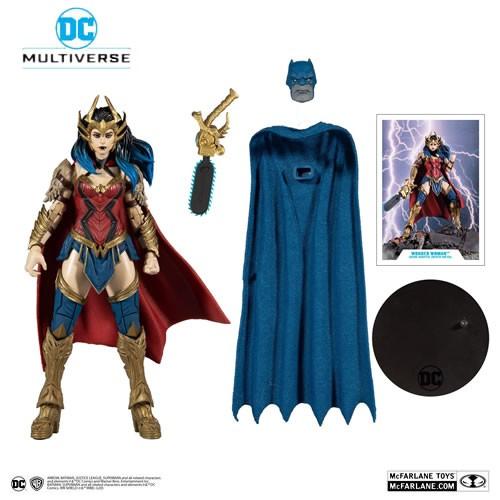 "DC Multiverse Figures - Dark Nights: Death Metal (BAF Darkfather) - 7"" Scale Wonder Woman"