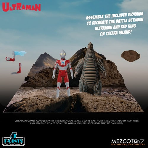 5 Points Figures - Ultraman And Red King Boxed Set
