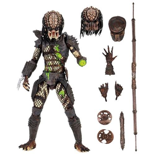 "Predator 7"" Scale Figures - Ultimate Battle Damaged City Hunter (Predator 2)"